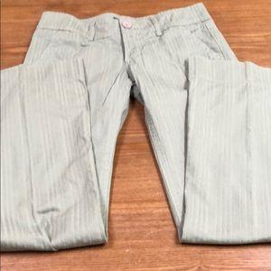 Pants sage color